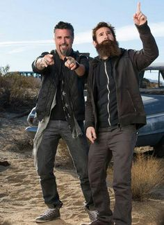 richard from fast and loud   Richard Rawlins and Aaron Kaufman from Fast N loud...love these guys