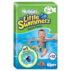 Mothercare Baby, Disposable Nappies, Tesco Groceries, Little Swimmers, Best Swimming, Diaper Sizes, Disney Designs, Baby Health, Maternity Tees