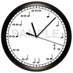 Music Lovers Clock