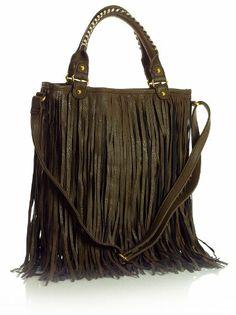 Celebrity Style Fringe Cowgirl Bag