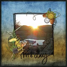 For Spacious Skies Collection, designed by Jennifer Ziegler, Scrap Girls, LLC digital scrapbooking product designer