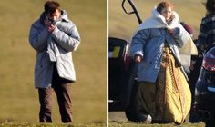 DAVID Tennant has been pictured for the first time on the set of the Doctor Who 50th anniversary special today as he returns to the role of the Time Lord.
