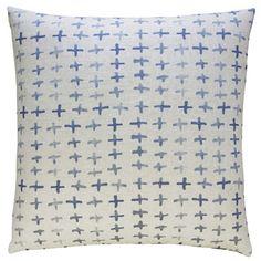 Bungalow Rose Raygoza Cross Batik Throw Pillow & Reviews   Wayfair
