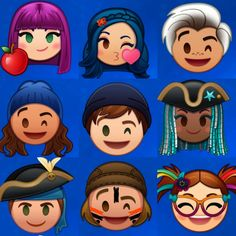 Descendants emoji, chi preferisci? #descendants3 #descendants #descendants2 #descendantsunderthesea #rottentothecore #waystobewicked…