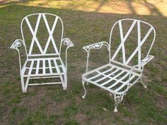vintage woodard lounge chair sold woodard pinterest lounge chairs iron patio furniture and wrought iron
