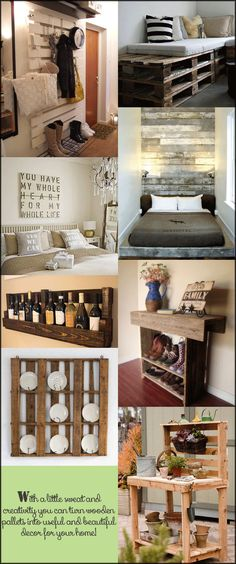 Creative Uses for Wooden Pallets