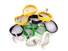 Fun Buttons Bracelets (Case of 20)