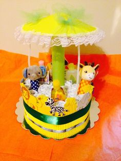 carousel cakes how to make