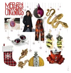 """""""Merry Christmas"""" by anna-recycle ❤ liked on Polyvore"""