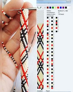 Crochet Bracelet Crochet Bracelet Learn the rudiments of how to needlework (generic term), starting Diy Bracelets Patterns, Beaded Bracelet Patterns, Jewelry Patterns, Bead Crochet Patterns, Bead Crochet Rope, Beading Patterns, Bead Jewellery, Seed Bead Jewelry, Beaded Jewelry