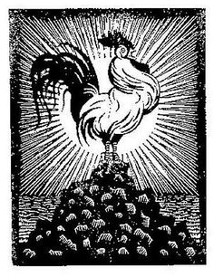 M. C. Escher, Flor de Pascua - Theosophy