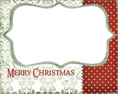 Digital Christmas Cards + Free Template Downloads | Christmas card ...