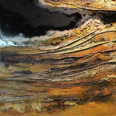Mineral Rights 2, by Carol Nelson Acrylic ~ 24 x 24