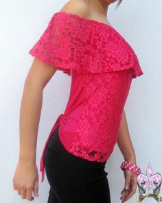 moda en blusa-blusas de moda-blusas de moda 2015-blusas Refashion, Skirt Fashion, Frocks, Spring Outfits, Fashion Models, Knit Crochet, Plus Size, Style Inspiration, Albania