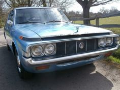 If you're looking for something that will stand out at the next Cars and Coffee event, this is a strong contender. This 1974 Toyota Crown Saloon is in Dorking, Surrey, United Kingdom, about an hour and a half southwest of. Corolla Hatchback, Toyota Crown, Cars And Coffee, Car Pictures, Car Pics, Japanese Cars, Toyota Corolla, Old Cars, Vintage Cars