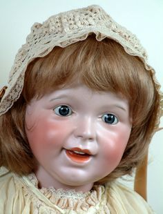 "26"" Rare Large SFBJ 236 Laughing Bebe Jumeau Toddler Antique Child Doll!"