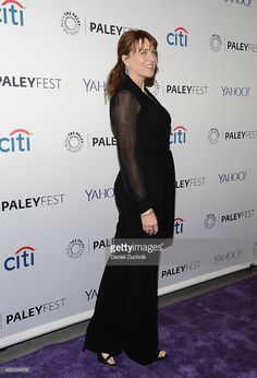 Lucy Lawless attends the 'Ash Vs Evil Dead' panel during PaleyFest New York 2015 at The Paley Center for Media on October 13, 2015 in New York City.