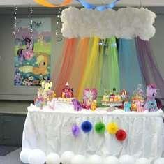 Jenna Leah's 3rd Birthday my little pony - My Little Pony