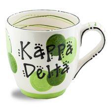 Kappa Delta Ceramic Dot Mug