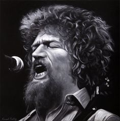 Luke Kelly Limited Edition Print Take from Original portrait painting by Vincent Keeling Celebrity Caricatures, Irish Art, Folk Music, Limited Edition Prints, Music Stuff, Painting Inspiration, Music Artists, Really Cool Stuff, Actors