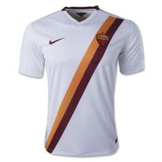 4ea36f572 The kit is inspired by AS Roma s jersey of the white with a bold yellow-and-red  sash running diagonally from the shoulder through the crest and to the hem.