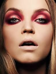 red eyeshadow makeup images - Google Search