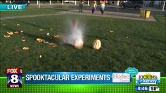 Science spooktacular: blowing up pumpkins with dry yice