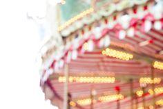 vintage merry-go-round...