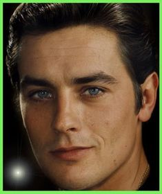 """Alain Delon.  Totally in my top 5  of the """"All Men Should Look Like This"""" category."""