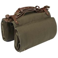 Audax Roll-Up 28L Pannier Pine