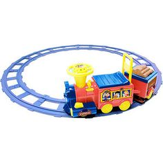 I want to give this to my son for Christmas   Talking Train Battery-Operated Ride-On