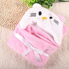 Blanket & Swaddling Well-Educated Pure Cotton Towels Molding Bathrobe Children Bath Towel Boy And Girl Blanket And Swadding Price Remains Stable Mother & Kids
