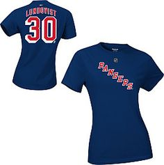 """Cheer on the """"King"""" and the greatest goalie in the league with this Henry Lundqvist tee by Reebok!"""