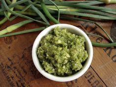 garlic scape pesto—with a twist – In Jennie's Kitchen