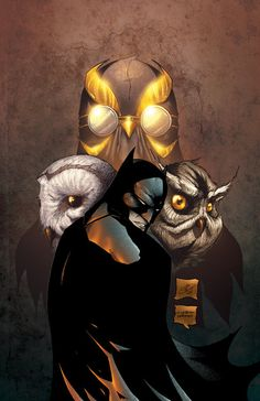 The new 52: Batman and the court of owls