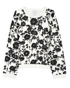 Sweater by Karen Walker - What's New Karen Walker, Whats New, Bohemian, Black And White, Blouse, Long Sleeve, Sleeves, Summer, Sweaters