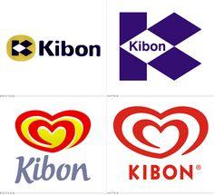 Evolução do Logo Kibon