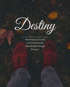 Inspirational Positive Quotes Destiny is part of Destiny quotes - Leading Quotes Magazine & Database, Featuring best quotes from around the world True Feelings Quotes, People Quotes, Attitude Quotes, True Quotes, Words Quotes, Best Quotes, Motivational Quotes, Inspirational Quotes, Qoutes