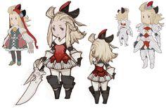 Edea Concepts - Characters & Art - Bravely Default