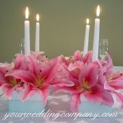 Simple Pink Wedding Decorations | Home > Planning > Tips & Ideas > Wedding Decorations & Ideas