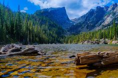Dream Lake at Rocky Mountain National Park [OC] [3000x2000]