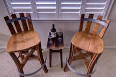 Wine Barrel Furniture Wine Barrel Furniture, Barrel Projects, Barrels, Repurposed, Diy Home Decor, Vineyard, Dining Chairs, Stool, Cool Stuff