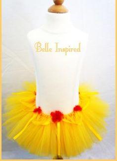 Belle costume from iart.homestead (Belle Diy Costume)