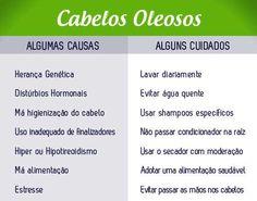 Aprenda dicas #rapidas #baratas e #faceis de #como #cuidar dos #cabelos #oleosos e acabe já com esse problema! #cuidados #salaovirtual