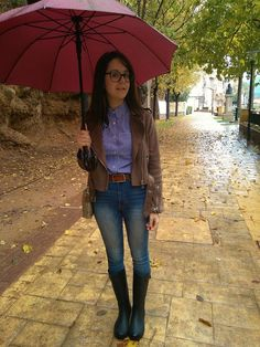 Rainy look - Temporada: Otoño-Invierno - Tags: rainy look,  - Descripción: Look para esos días de lluvia