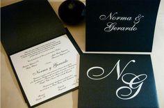 Invitaciones de Boda, al detalle. Este tipo de invitaciones son para bodas clásicas, donde la elegancia se hace presente.
