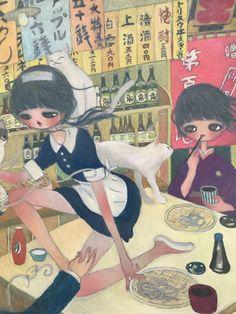 Japanese Contemporary Art, Japanese Art, Pretty Art, Cute Art, Aya Takano, Indie Art, Funky Art, Chef D Oeuvre, Cute Icons