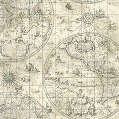 Westminster 4005 90W6961 Cartography, nautical map wallpaper