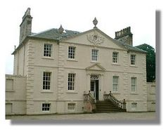 Greenbank House and Gardens in Clarkston, about six miles from the centre of Glasgow