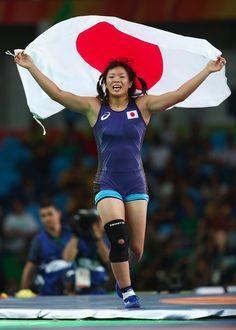 Risako Kawai wins another #gold for #JPN in #wrestling (women's 63kg)…